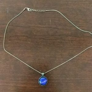 Glass blown necklace